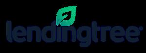 Lendingtree logo in black and green